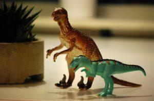 jouet dinosaure à emporter en voyage